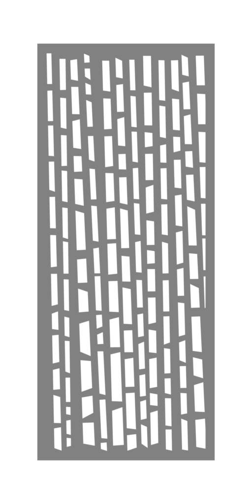 Decorative Creative Metal Screen Bamboo Forest ENSO