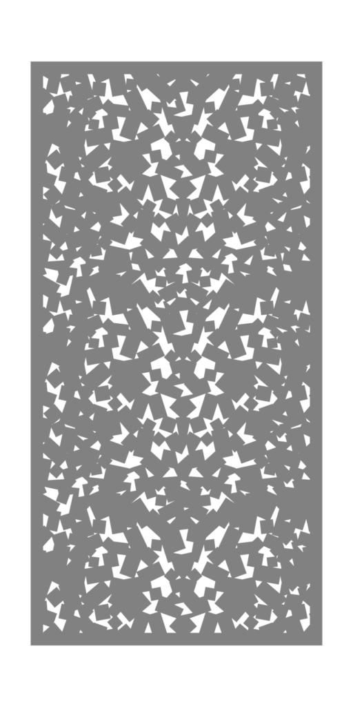 Decorative Creative Metal Screen Super Cracked ENSO
