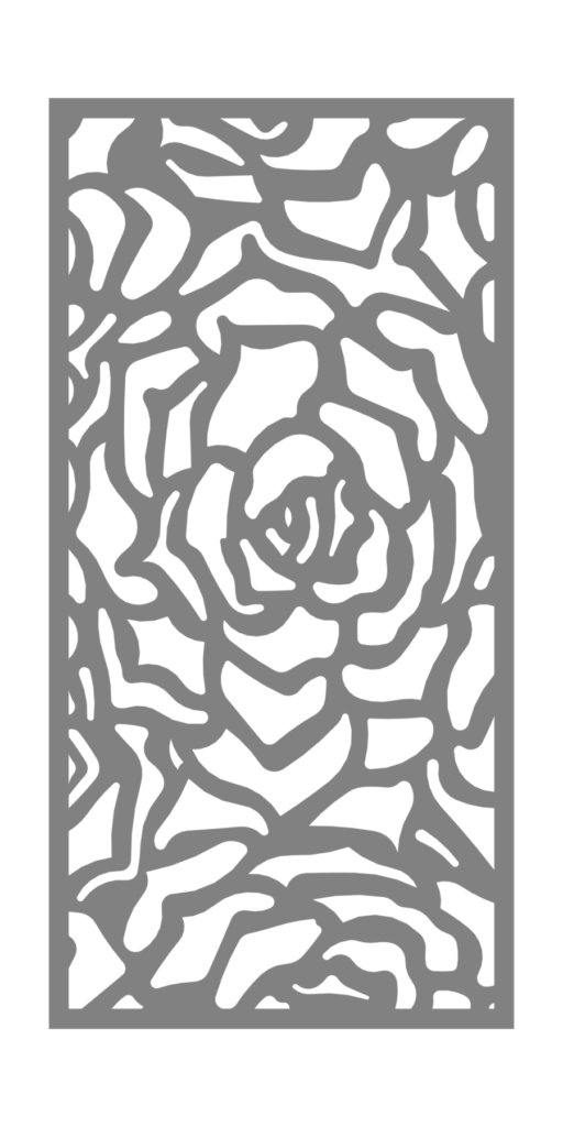 Decorative Creative Metal Screen Rosetta ENSO