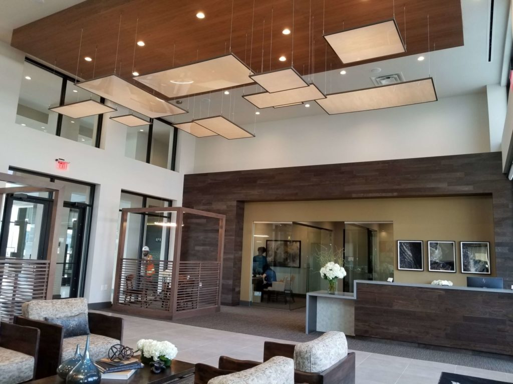 Custom Ceiling Hanging Light Fixtures Rectangles ENSO
