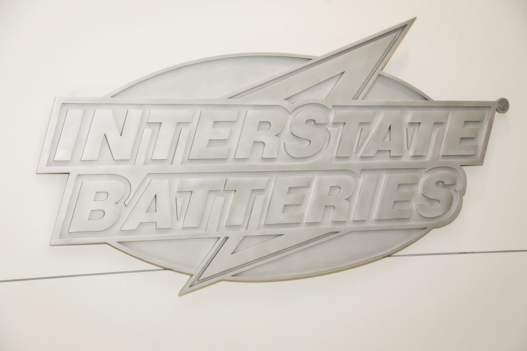 Custom Design Interstate Batteries Logo Front View ENSO