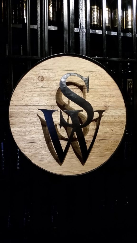 Custom Metal and Wood SW Logo 1 ENSO