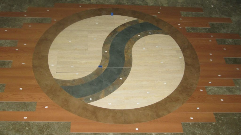 Custom VCT and LVT Circle S Ball Logo ENSO