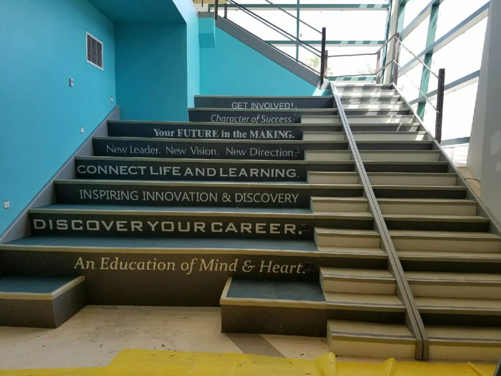 Custom VCT Inspiring Motivations Staircase ENSO