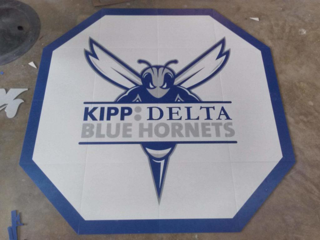 Custom VCT Medallion Kipp Delta Blue Hornets Logo ENSO