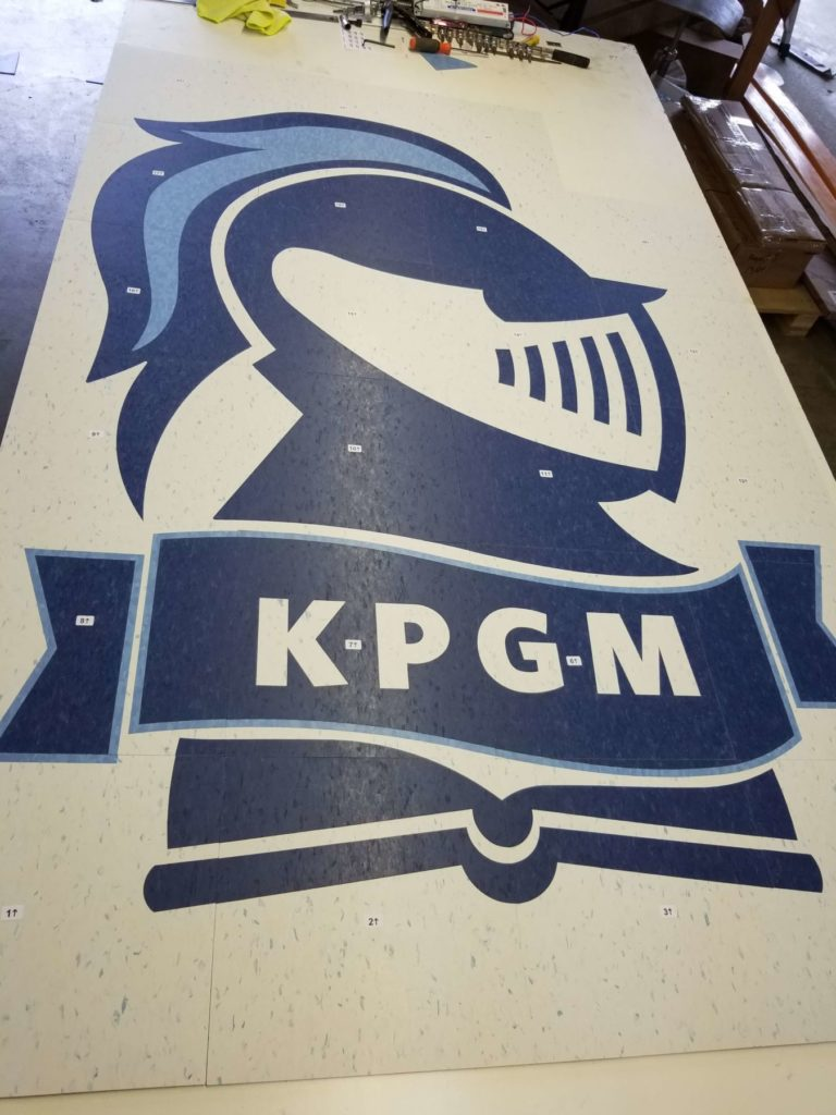 Custom VCT Medallion KPGM Knight Logo ENSO