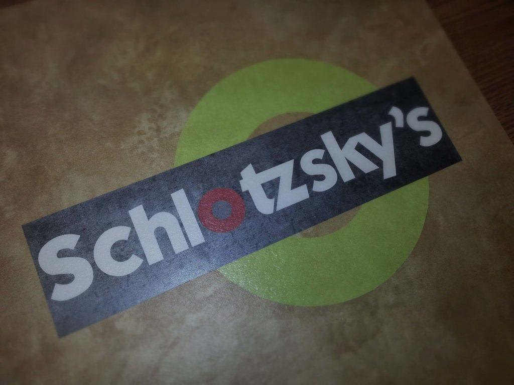 Custom Vinyl Flooring Schlotzskys Logo ENSO