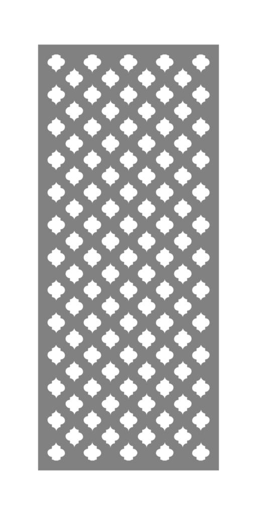 Decorative Creative Metal Screen Design Quatrefoil ENSO