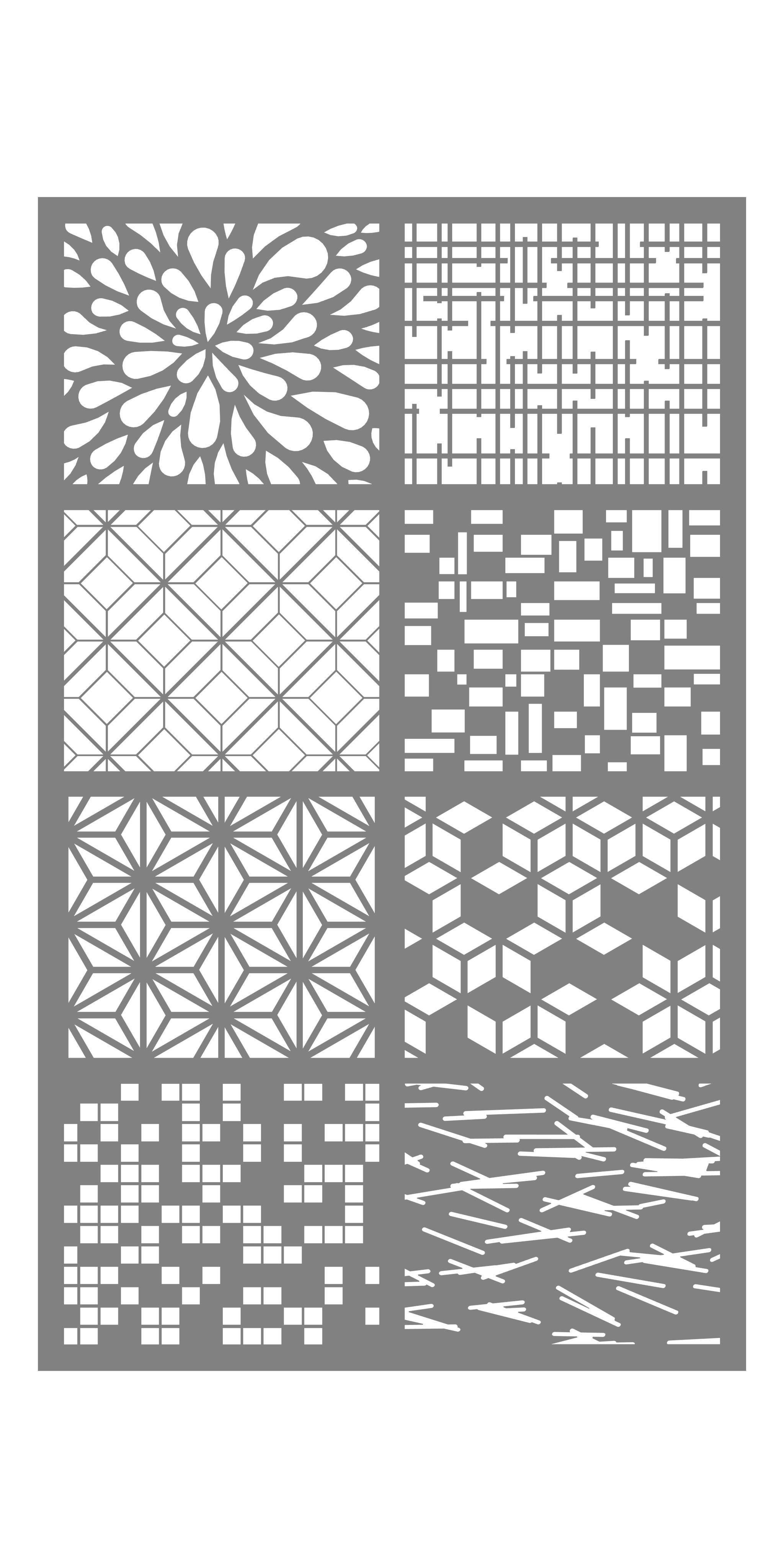 Designs Medallions Mosaic Metal Screens Enso