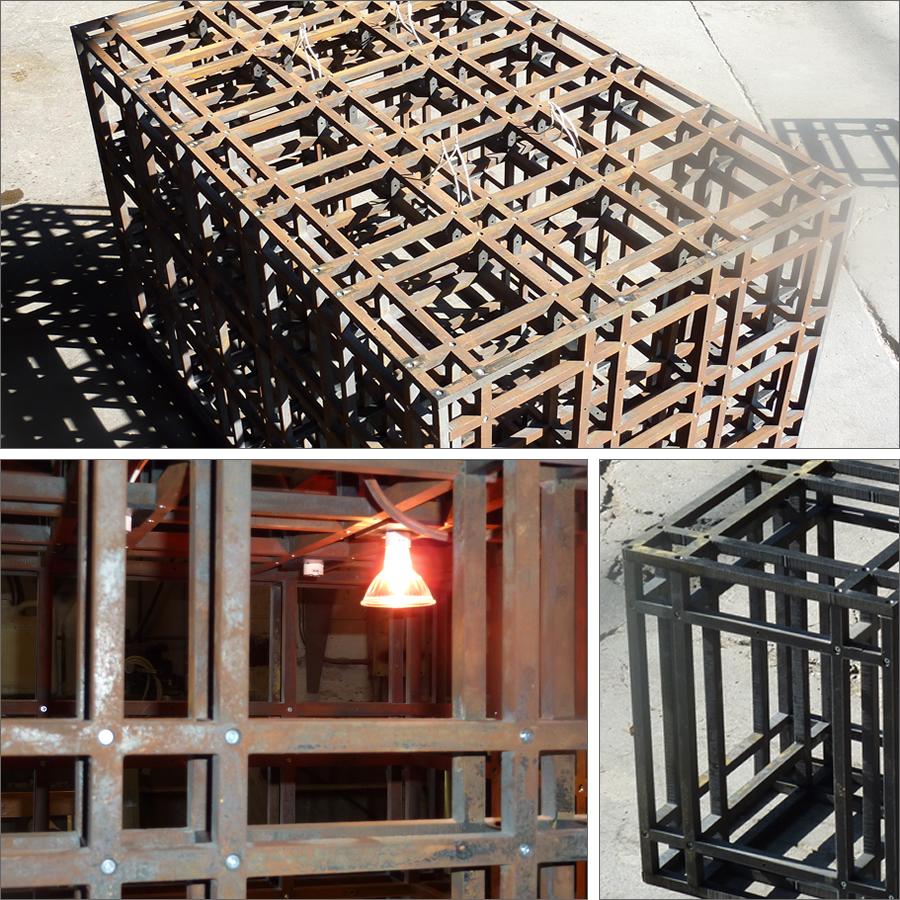 Malai Kitchen Light Fixture Welding Fabrication ENSO