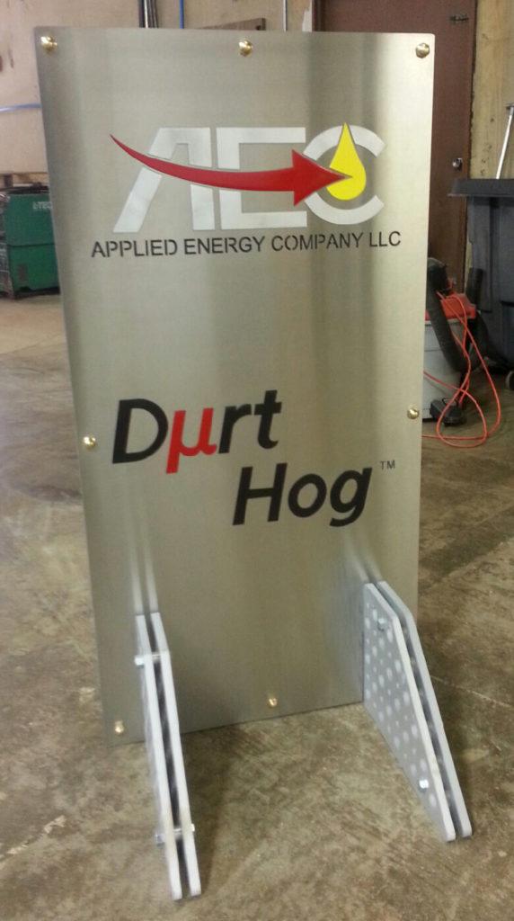Custom Design Signage Durt Hog AEC ENSO