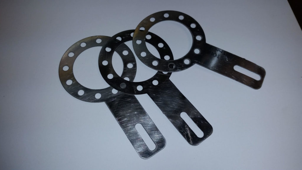 Precision Waterjet Cut Industrial Metal Part Gaskets ENSO