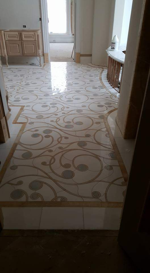Stone Inlay Floor Magaha Hall View ENSO