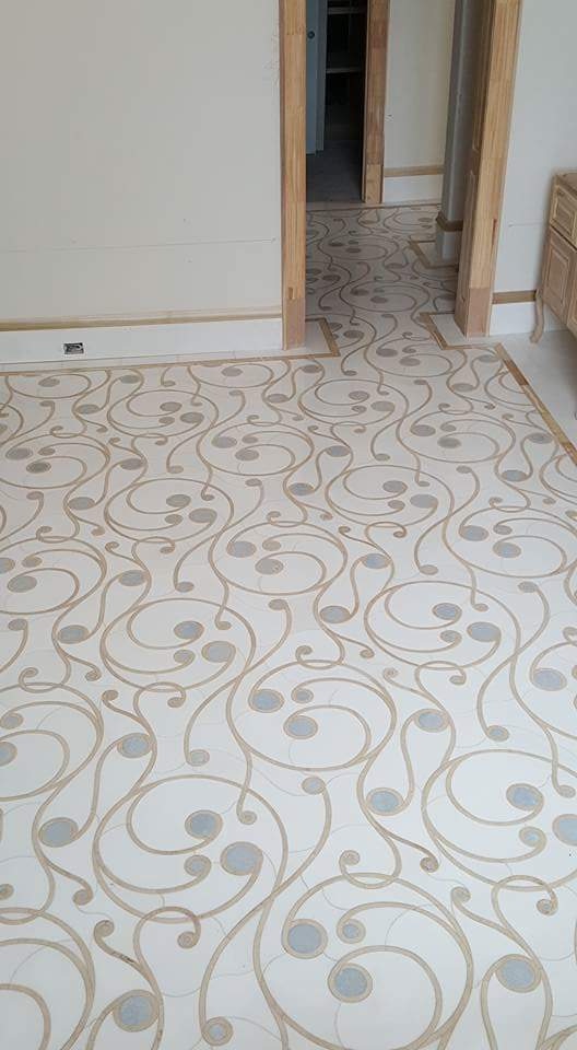 Stone Inlay Floor Magaha Project ENSO
