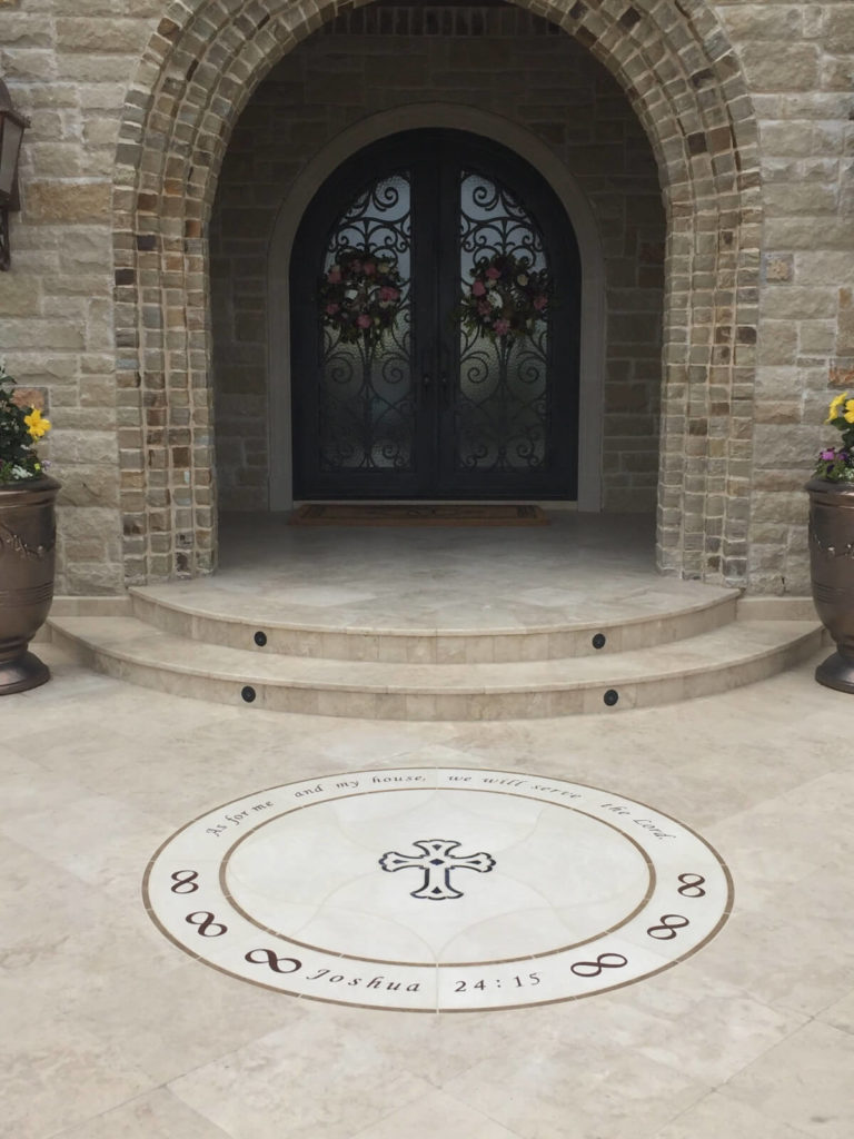 Stone Medallion Inlay Joshua Cross Entry ENSO