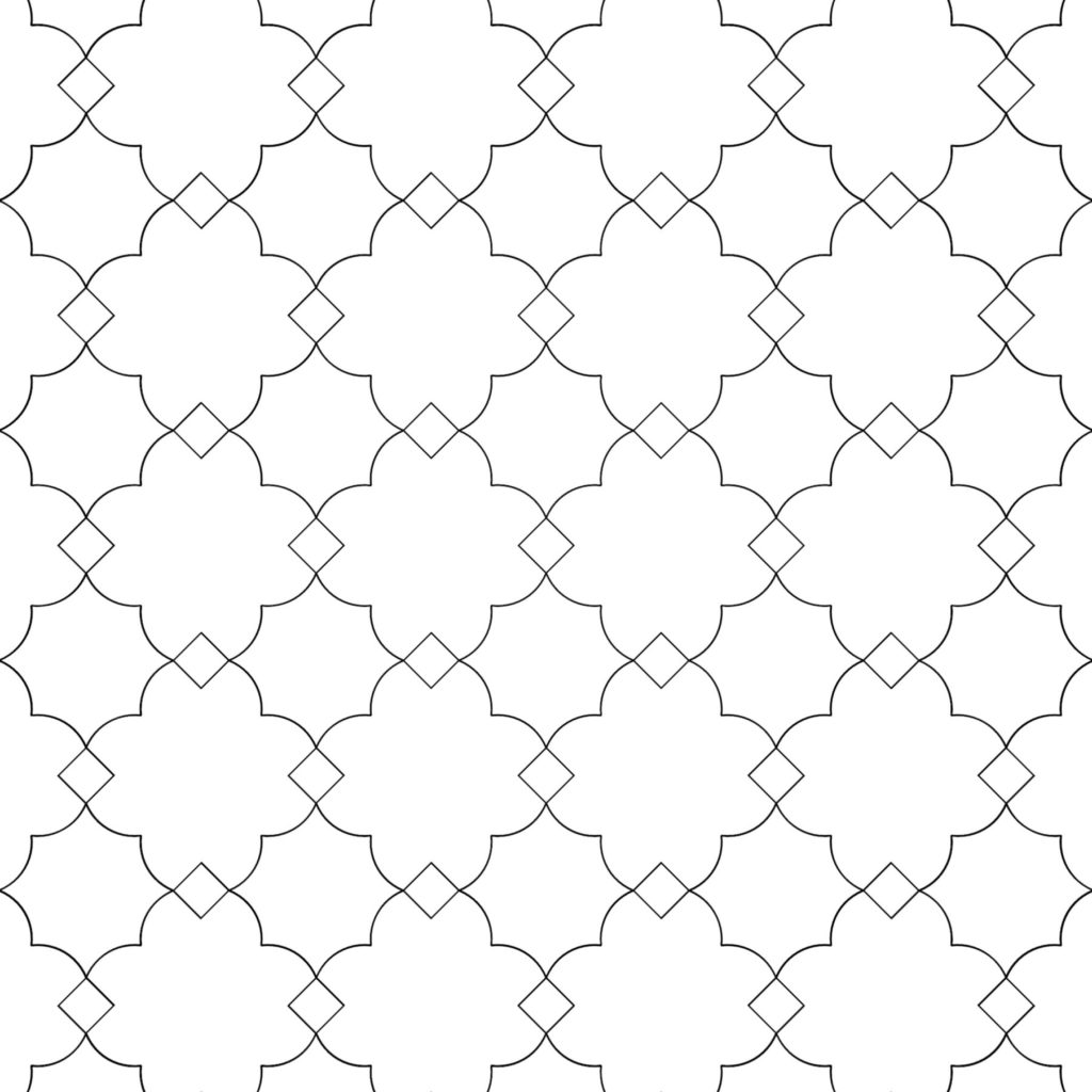 Creative Mosaic Tile Design Ramadan Octagon ENSO