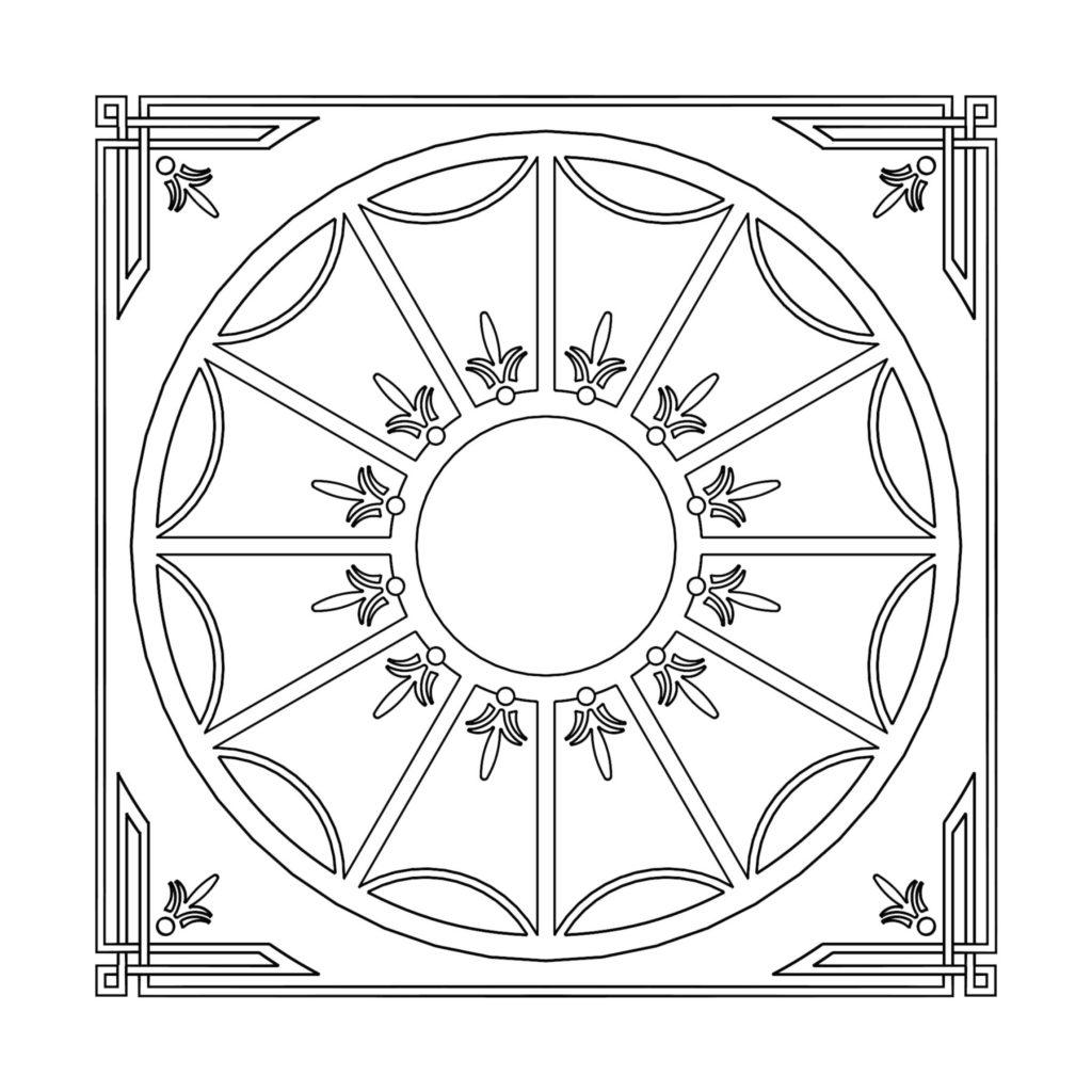 Stone Medallion Design Finscoth ENSO