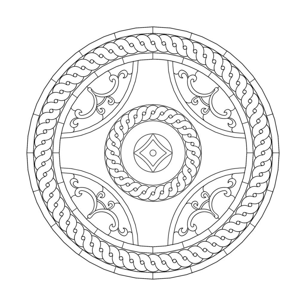 Greco Roman Stone Medallion Design Greco Roman ENSO
