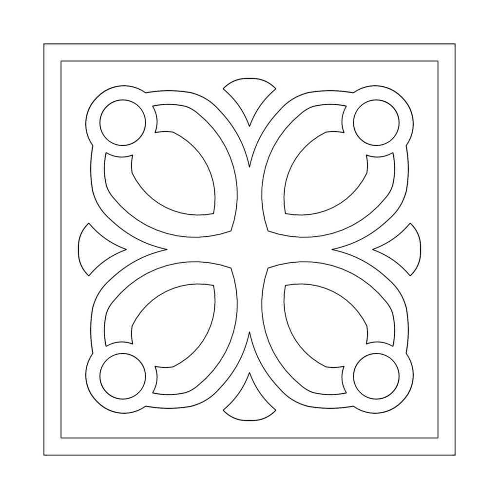 Stone Medallion Design Huarmi ENSO