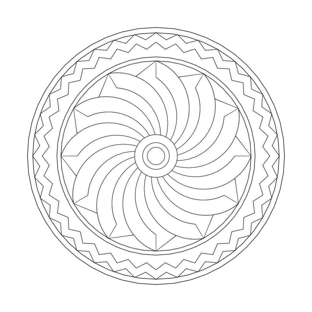 Stone Medallion Design Huitzilopochtli ENSO