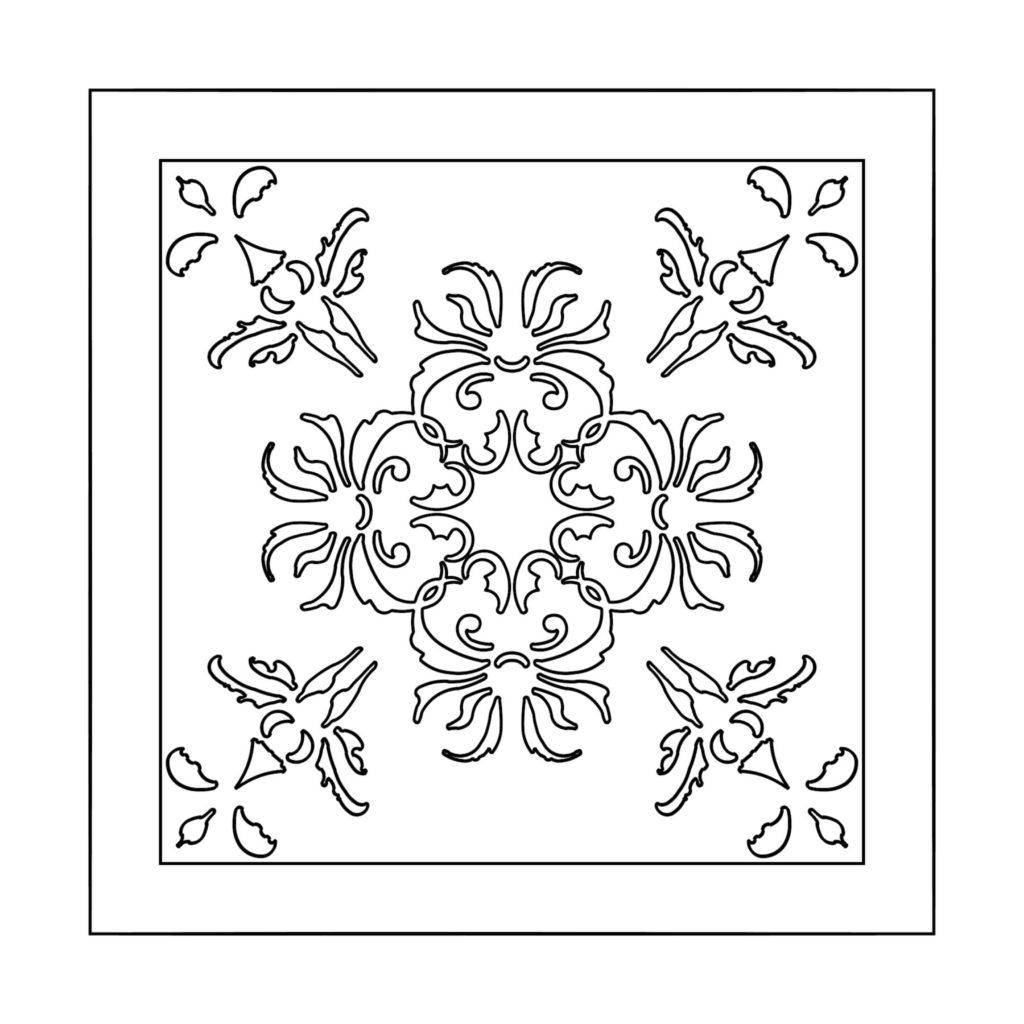 Stone Medallion Design Iris Barbu ENSO