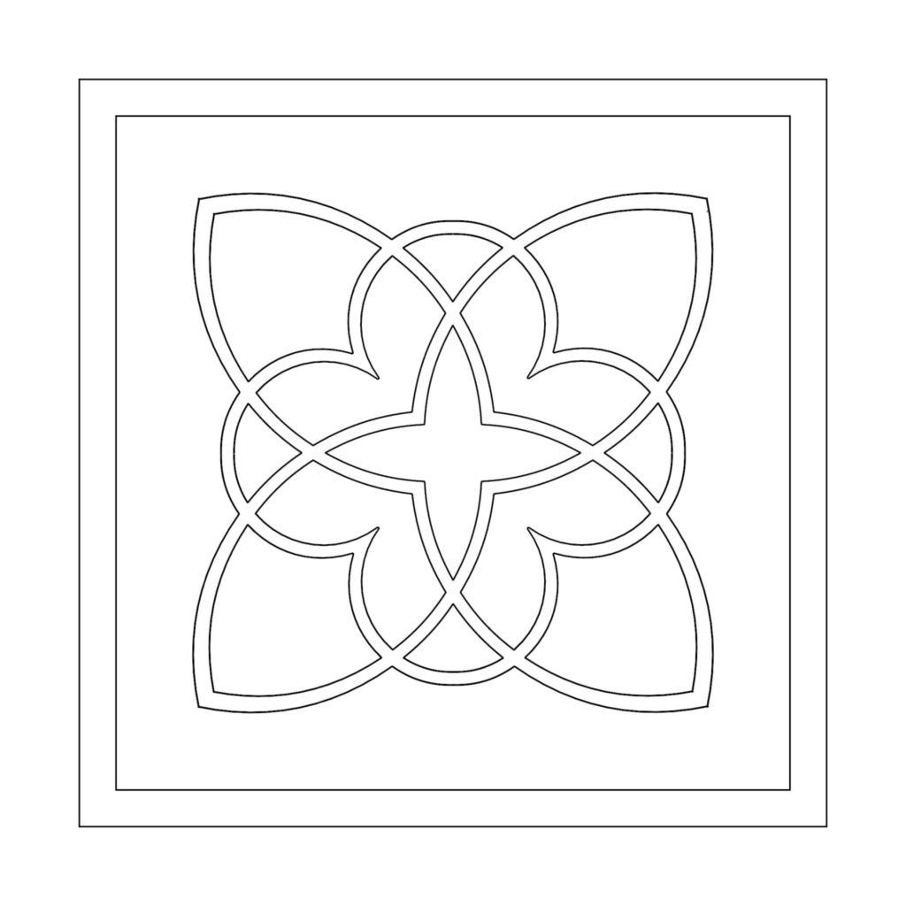 Stone Medallion Design Killian ENSO