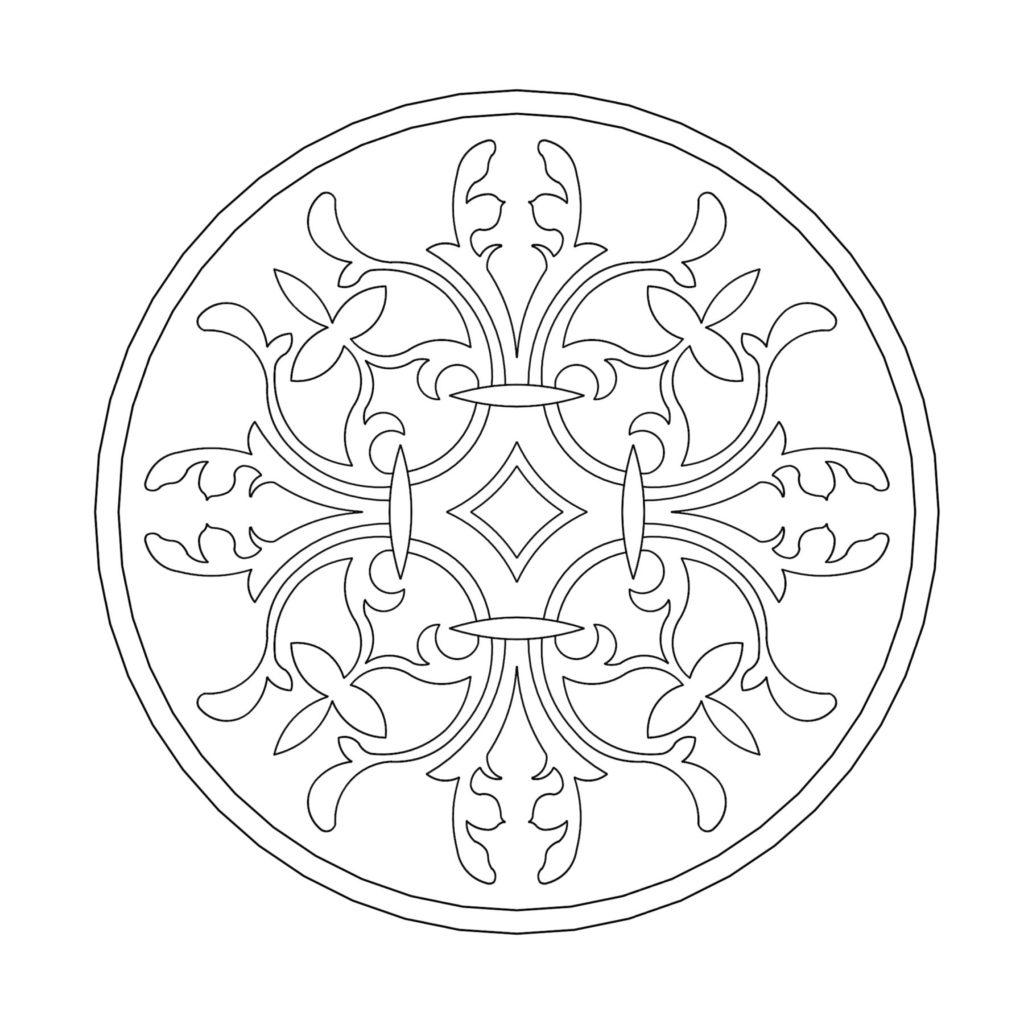 Stone Medallion Design Moisson ENSO