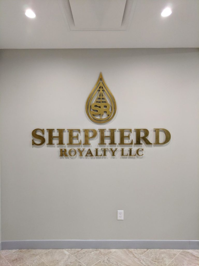 Custom Bronze Shepherd Royalty LLC Logo ENSO
