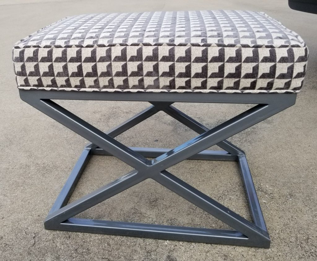 Custom Metal Fabricated Stool ENSO