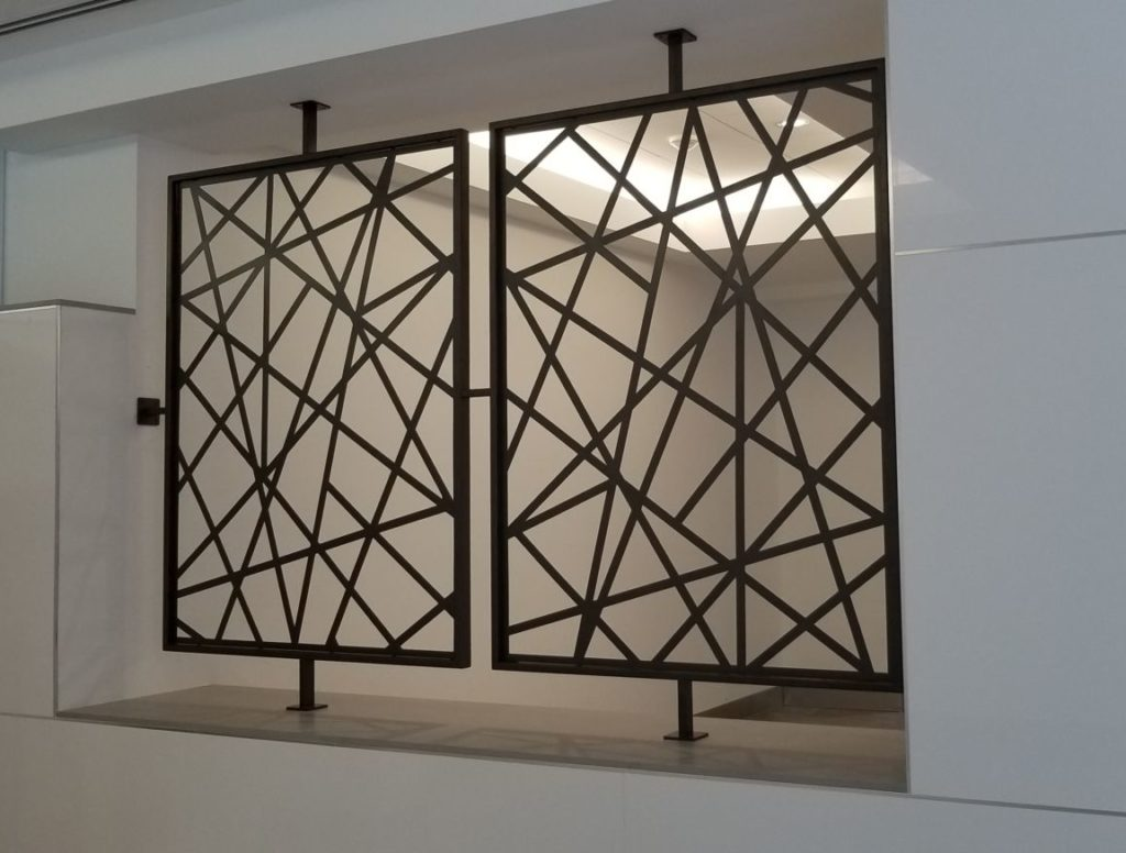 Decorative Metal Screen Wellborn Dallas ENSO