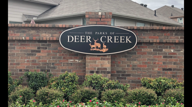 Custom Signage The Parks of Deer Creek ENSO