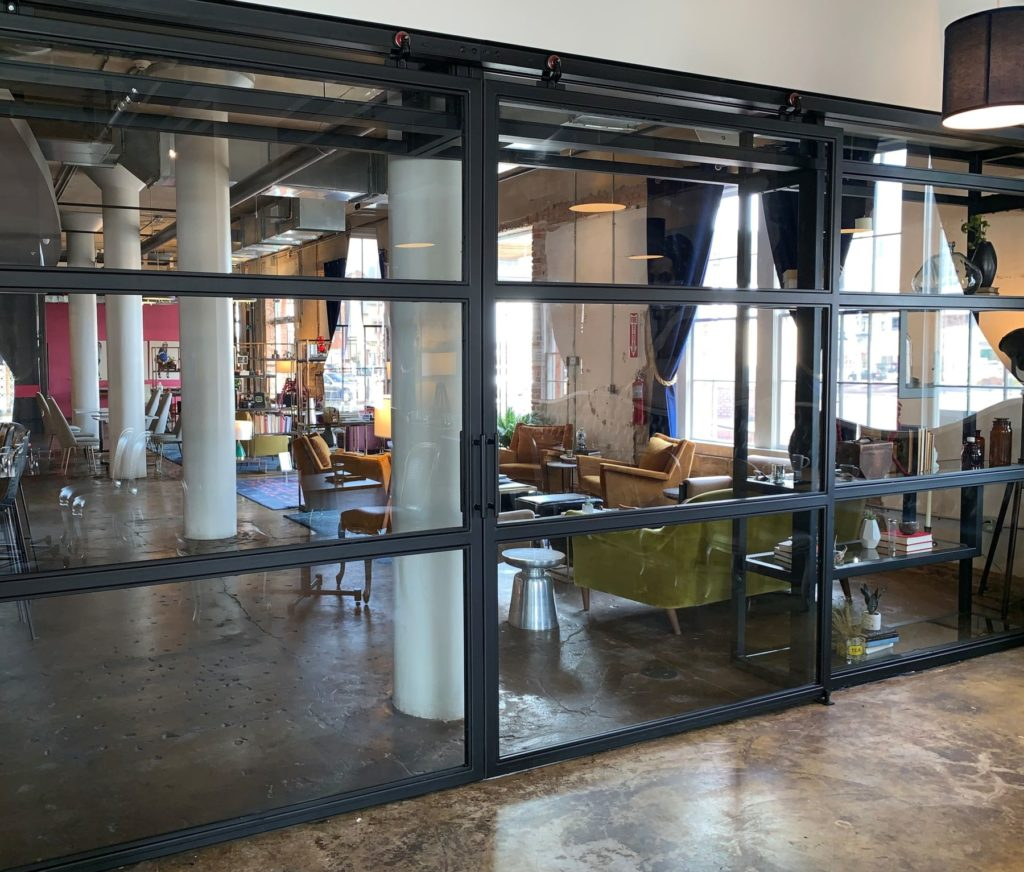 Custom Architectural Modern Metal Room Divider ENSO