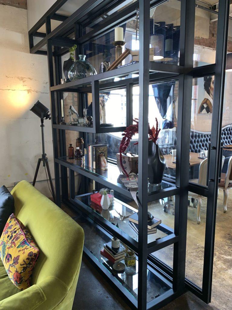 Custom Fabricated Metal Shelves Modern ENSO