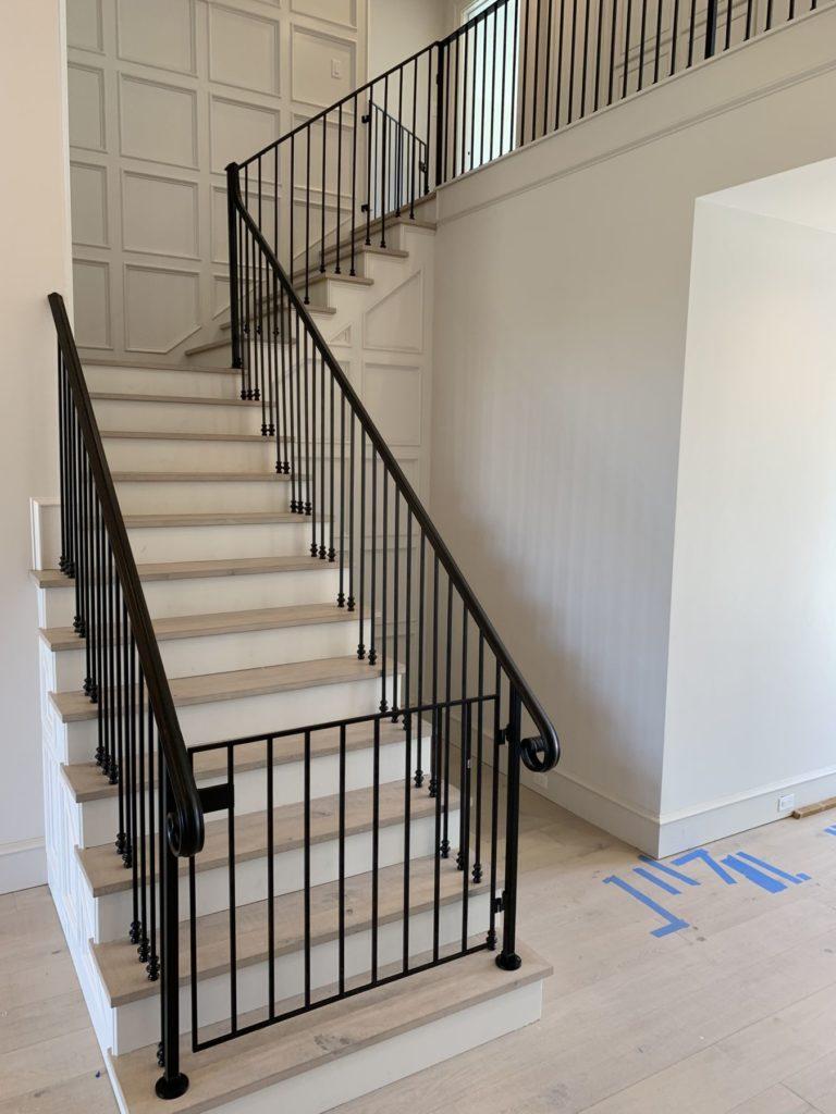 Custom Metal Stair Railing Child Pet Guard ENSO