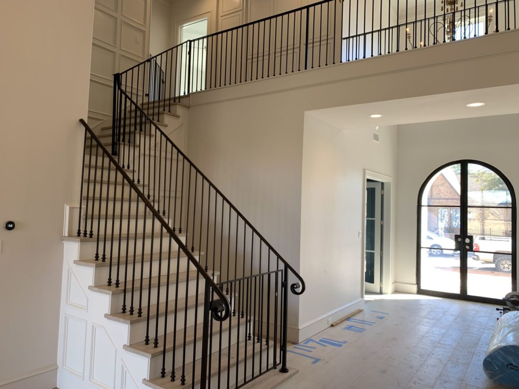 Custom Metal Stair Railings Balcony Child Pet Guard ENSO