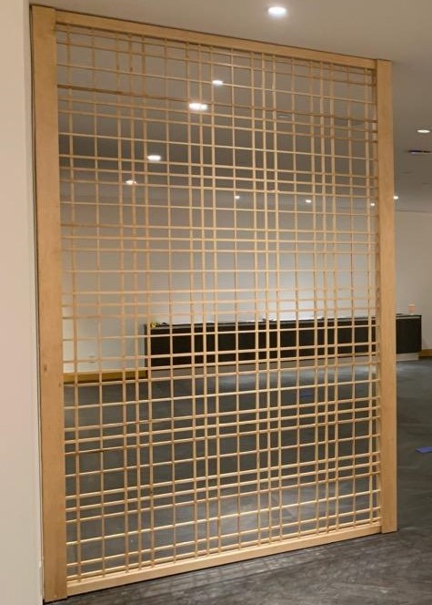 Japanese Wood Screens Custom Millwork Installation ENSO