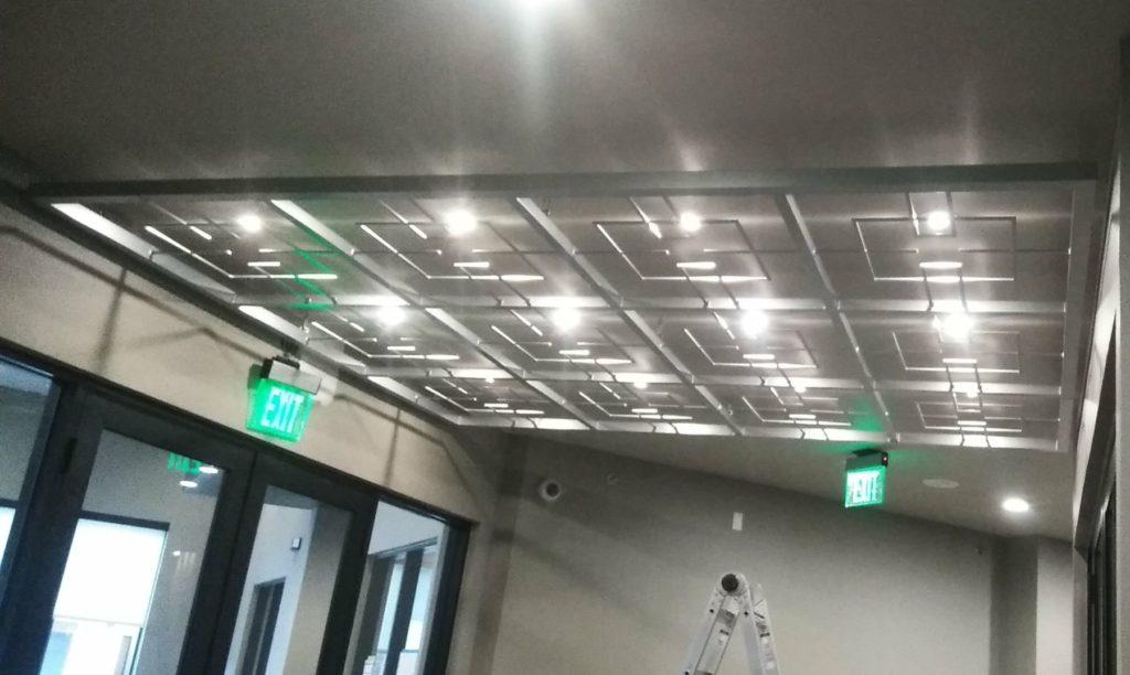 Metal Screen Canopy Trinity Union ENSO