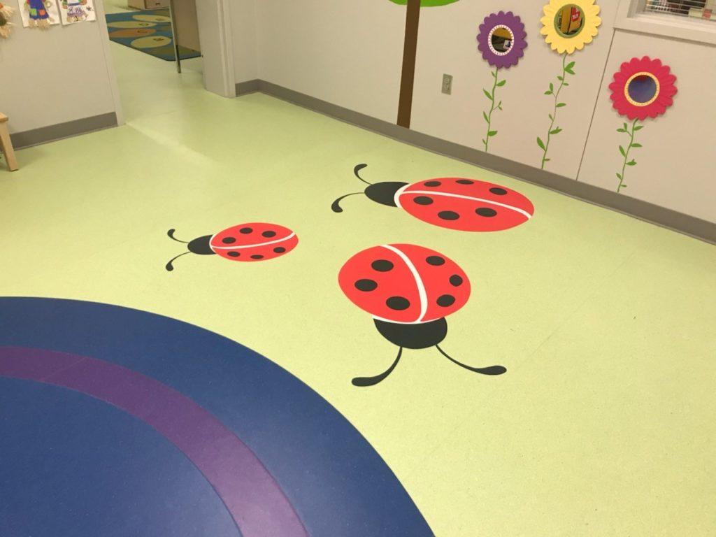 Vinyl Waterjet Cut Ladybug ENSO
