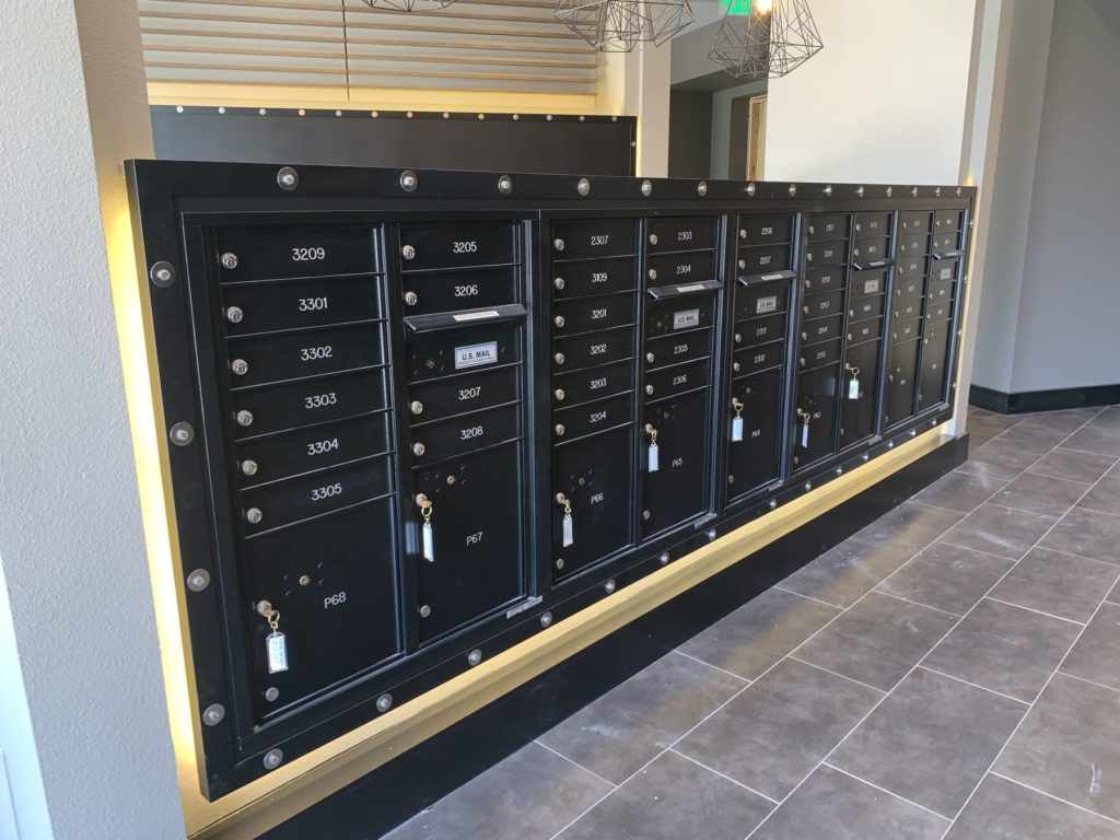Decorative Metal Mailbox Framing Trinity Union ENSO