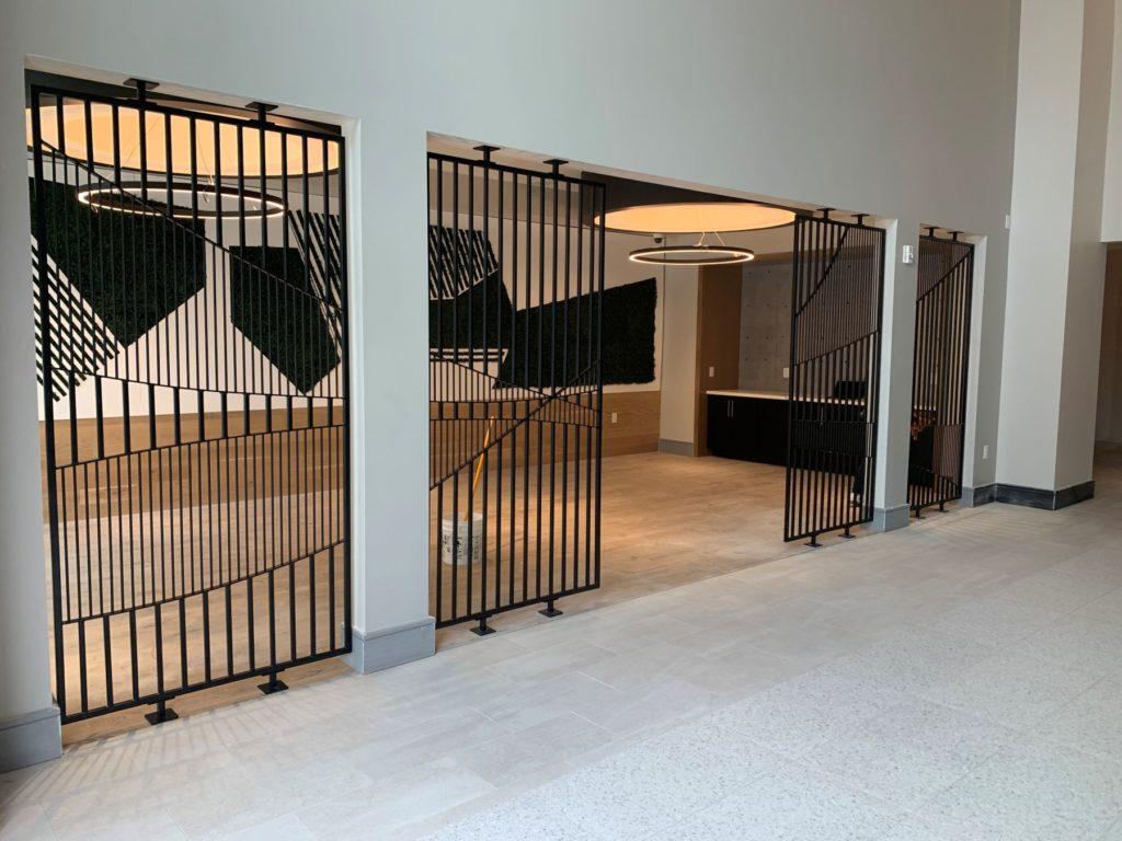 Metal Kumiko Design Welded Panels ENSO