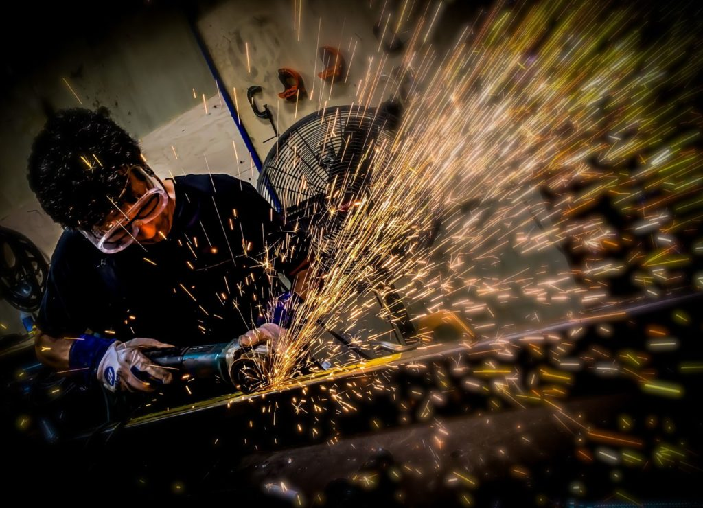 Welding Throwing Sparks ENSO