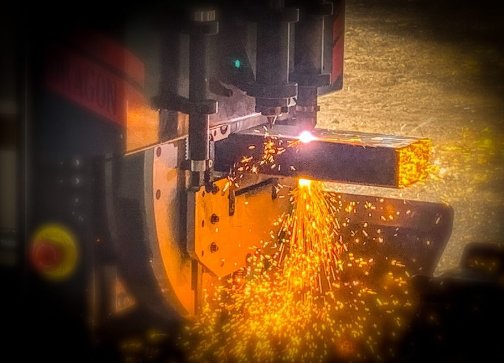Industrial Parts Fabrication Sparks ENSO