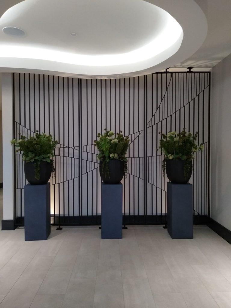 Decorative Metal Kumiko Art Fabricated Panels ENSO