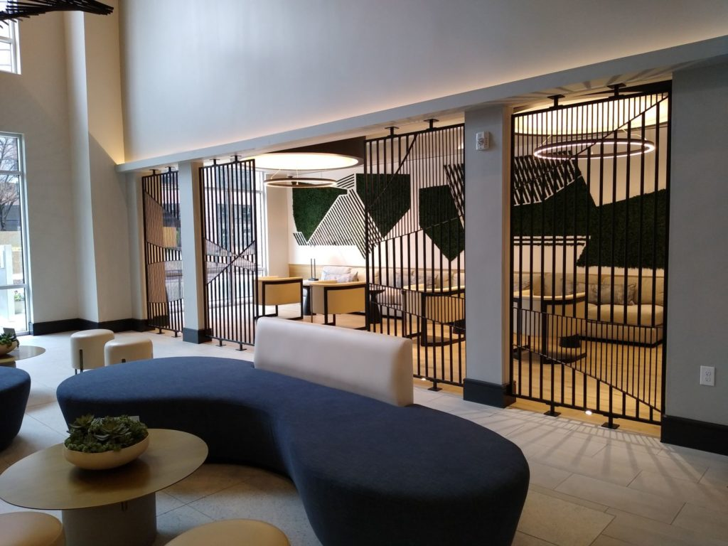Metal Fabricated Kumiko Accent Screen Panels ENSO